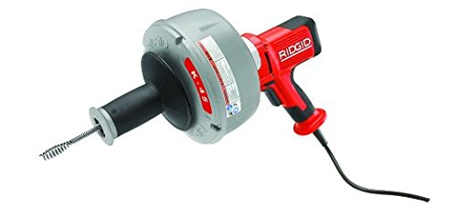 Ridgid-35473-K-45-AutoFeed-Drain-Cleaner-C-1IC-with-Bulb-Auger-516-Inch-x-25-Feet-0