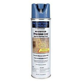 Rust-Oleum-205236-Mc1800-Water-Based-Precision-Line-Inverted-Marking-Chalk-Aerosol-Apwa-Blue-Lot-of-12-0