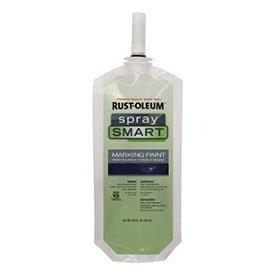 Rust-Oleum-278278-Spraysmart-Marking-Paint-Pouches-Black-105-Oz-Lot-of-12-0