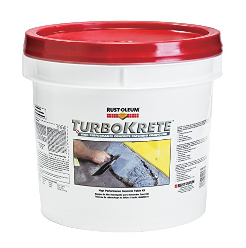 Rust-Oleum-5494323-Concrete-Saver-TurboKrete-Concrete-Patching-Compound-35-Gallon-Light-Gray-0