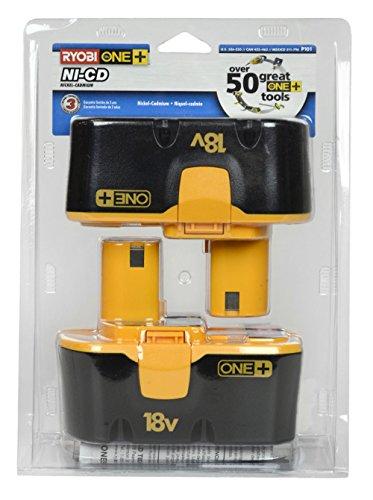 Ryobi-P101-18-Volt-One-Plus-Ni-Cd-Batteries-2-Pack-In-Retail-Package-0-0