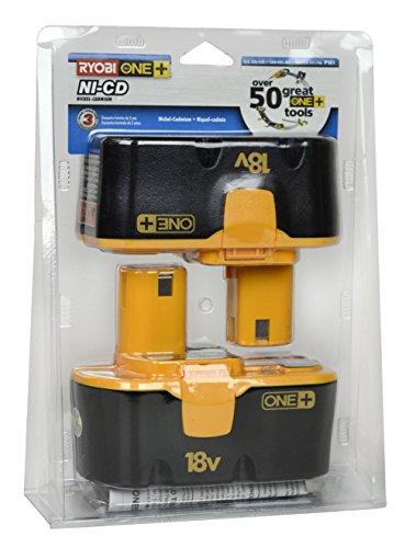Ryobi-P101-18-Volt-One-Plus-Ni-Cd-Batteries-2-Pack-In-Retail-Package-0