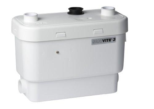 Saniflo-008-SANIVITE-Gray-Heavy-Duty-Water-Pump-White-0