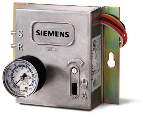Siemens 545 113 Electronic To Pneumatic Transducer With