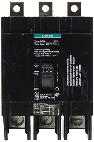 Siemens-BQD3100-100-Amp-Three-Pole-480Y277V-AC-14KAIC-Bolt-in-Breaker-0