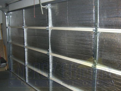 Smartgarage reflective garage door insulation kit 18 wx7 h for Fiberglass r value