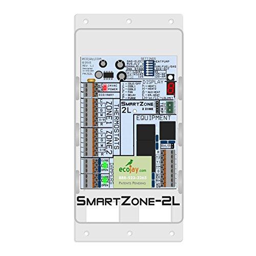 Smartzone 2l 2 Zone Controller Kit W Temp Sensor