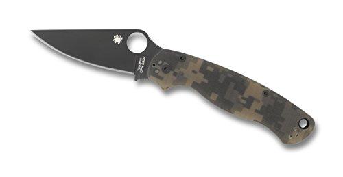 Spyderco-ParaMilitary2-Camo-G-10-Black-Blade-PlainEdge-Knife-0-0