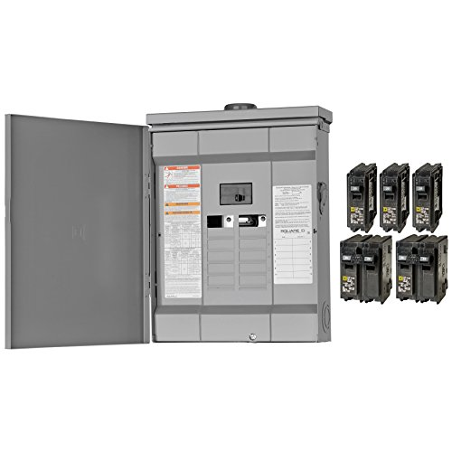 Square-D-by-Schneider-Electric-HOM1224M125PRBVP-Homeline-125-Amp-12-Space-24-Circuit-Outdoor-Main-Breaker-Load-Center-Value-Pack-Plug-on-Neutral-Ready-0