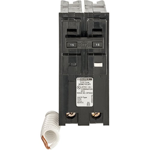 Square-D-by-Schneider-Electric-HOM215CAFIC-Homeline-15-Amp-Two-Pole-CAFCI-Circuit-Breaker-0