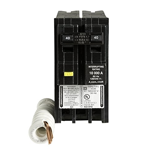 Square D By Schneider Electric Hom240gfic Homeline 40 Amp