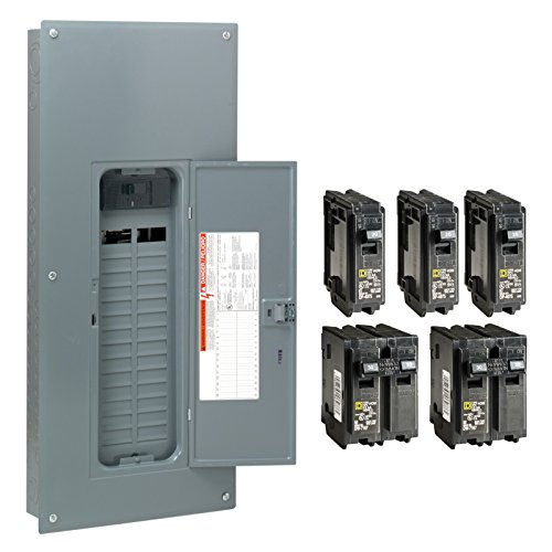 Square-D-by-Schneider-Electric-HOM3060M150PCVP-Homeline-150-Amp-30-Space-60-Circuit-Indoor-Main-Breaker-Load-Center-with-Cover-Value-Pack-Plug-on-Neutral-Ready-0