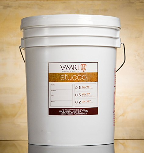 Stucco-5-Gallons-DRY-MIX-Vasari-Natural-Lime-Venetian-Plaster-Wall-Finish-the-Best-Paint-Alternative-0