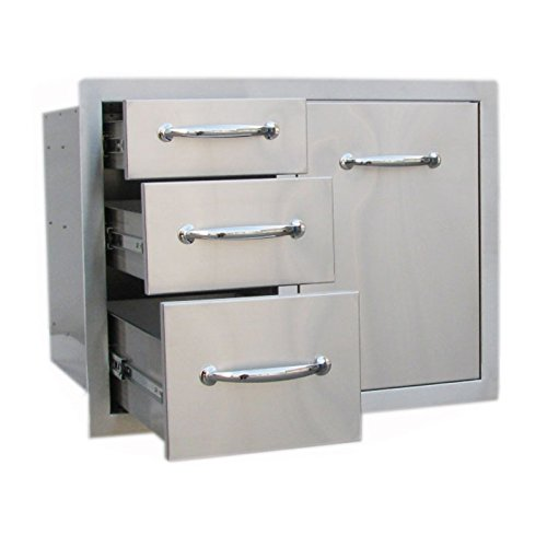 Sunstone-Grills-Classic-Series-Tank-Tray-Triple-Drawer-Combo-0-1