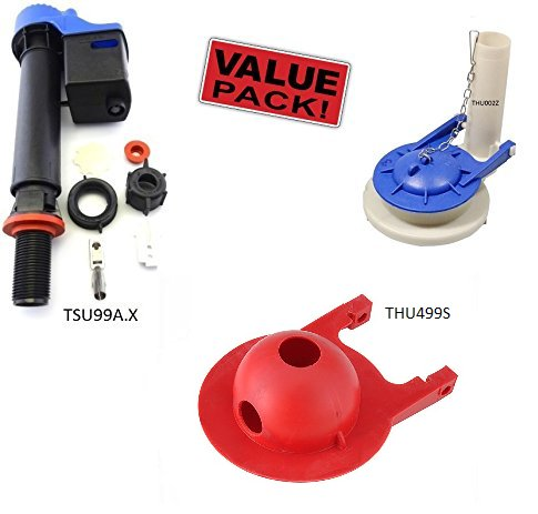 TOTO-COMBO-KIT-Toto-1THU002Z-Flush-Valve-for-Ultimate-Toilet-TOTO-1TSU99AX-Universal-Fill-Valve-TOTO-1THU499S-Replaces-THU140S-Flapper-Assy-0