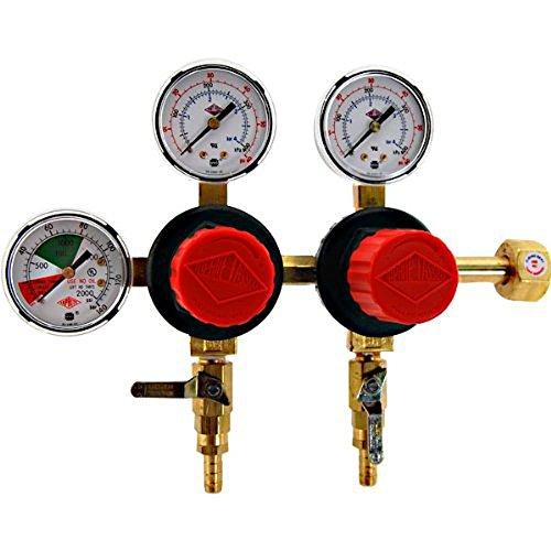 Taprite-T752HP-Two-Product-Dual-Pressure-Kegerator-CO2-Regulator-0