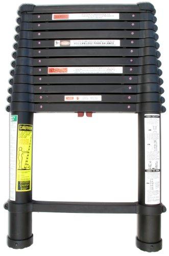 Telesteps-1600ET-OSHA-Compliant-16-ft-Reach-Black-Tactical-Telescoping-Extension-Ladder-0