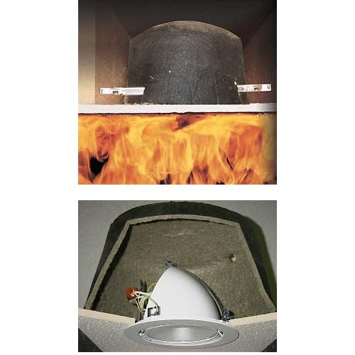 Tenmat-1-Hour-UL-Fire-Rated-Lighting-Cover-Dimensions-Inside-7375H-x-13-Diameter-Overall-8H-x-1425-Diameter-Material-Intumescent-Material-Color-Black-Qty-1-0-0