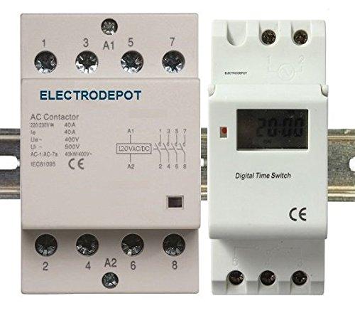 Time-Clock-7-Days-24-Hrs-Control-110VAC-16Amp-SPDT-DIN-rail-0