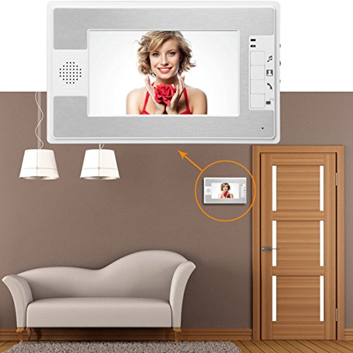 Video-Door-Phone-Gbargain-7-Color-TFT-LCD-Video-Door-Phone-Doorbell-Intercom-Night-Vision-Without-Radiation-Low-Power-Consumption-and-High-Definition-0-0