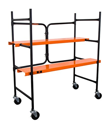 WEN-31105-500-lb-Capacity-Collapsible-Rolling-Scaffolding-0