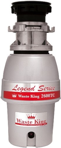 Waste-King-L-2600TC-Legend-Series-12HP-Batch-Feed-Operation-Waste-Disposer-0