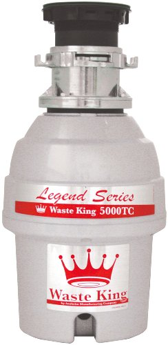 Waste-King-L-5000TC-Legend-Series-34-HP-Batch-Feed-Operation-Garbage-Disposer-0