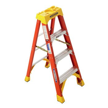 Werner-300-Pound-Duty-Rating-Type-IA-Fiberglass-Stepladder-0