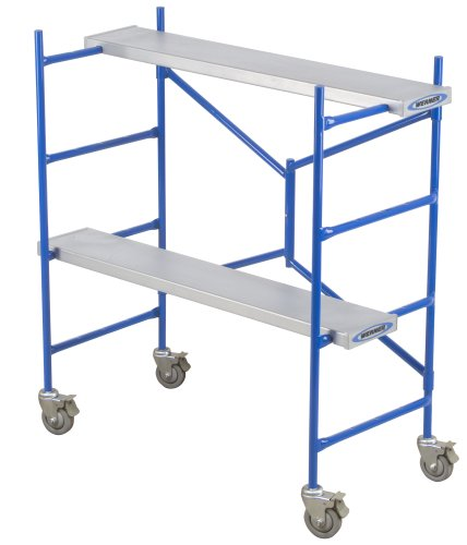 Portable Scaffolding With Wheels : Werner ps pound capacity portable scaffold online