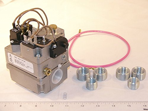 White-Rodgers-36c84-945-Gas-Valve-34-X-34-24-VAC-Redundant-Pilot-Valve-Fast-Opening-LP-Kit-One-24-Lead-with-Barrel-And-14-Connectors-0