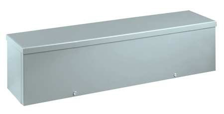 Wiegmann-RSCG040424G-RSCG-Series-NEMA-3R-Screw-Cover-Wiring-Trough-with-Knockouts-Galvanized-Steel-4-x-4-x-24-0