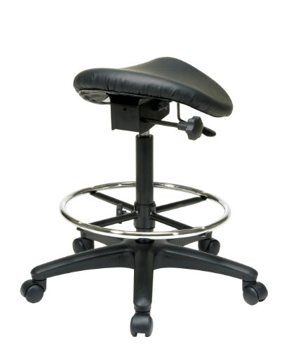 WorkSmart-Seating-Backless-Office-Stool-with-Saddle-Seat-Angle-Adjustment-25-to-35-Inch-Height-0-0