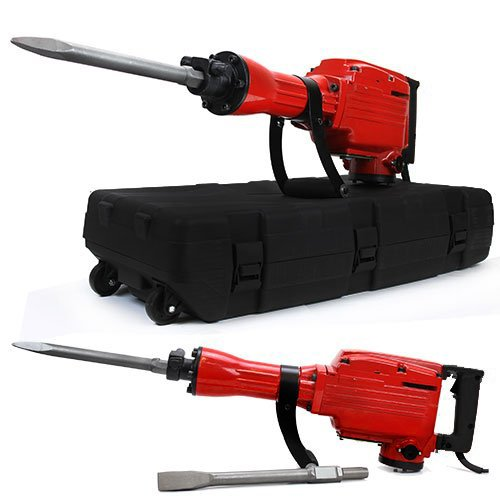 XtremepowerUS-2200Watt-Electric-Demolition-Jack-hammer-w-Chisels-and-Spade-Scoop-Shovel-0-1