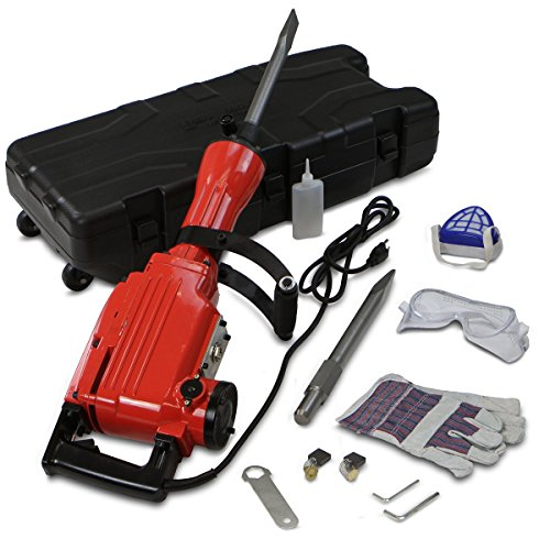 XtremepowerUS-2200Watt-Heavy-Duty-Electric-Demolition-Jack-hammer-Concrete-Breaker-WCase-Gloves-0-0