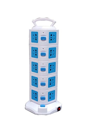 YUKASUMI-Vertical-5-Layers-2USB-Charge-20-Outlet-Creative-Power-Strip-For-Home-Office-Application-0