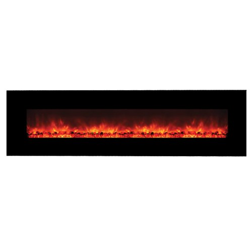 Yosemite-Home-Decor-DF-EFP1313-Contemporary-Wide-Glass-Electric-Fireplace-Black-0