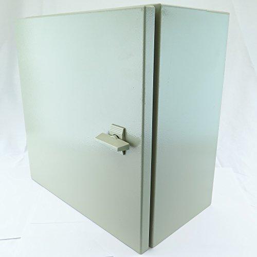 YuCo-YC-12x8x8-IP65-16-Gauge-Wall-Mount-Standard-IndoorOutdoor-Enclosure-12-H-x-8-W-x-8-D-0