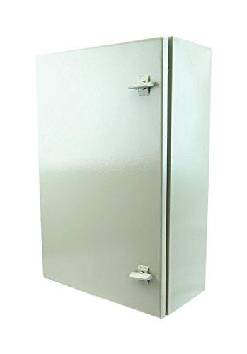 YuCo-YC-24x16x12-IP65-16-Gauge-Wall-Mount-Standard-IndoorOutdoor-Enclosure-24-H-x-16-W-x-12-D-0