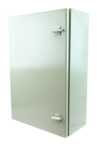 YuCo-Yc-24x20x8-IP65-16-Gauge-Wall-Mount-Standard-IndoorOutdoor-Enclosure-24-H-x-20-W-x-8-D-0