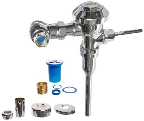 Zurn-Z6003-WS1-YB-YC-Aquaflush-Flush-Valve-10-Gallon-With-Cast-Wall-Flange-And-Sweat-Kit-0