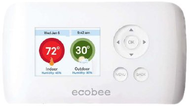 ecobee-Smart-Si-Thermostat-2-Heat-2-Cool-with-Full-Color-NON-Touch-Screen-0
